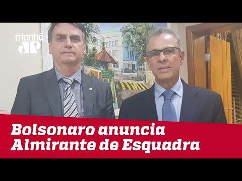 Bolsonaro anuncia Almirante de Esquadra para o Ministério de Minas e Energia