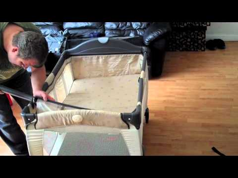Assembling the Graco Travel Cot and Bassinet & changing table