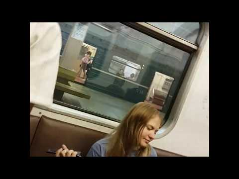 метро Красногвардейская, Москва 18 июня 2019 г.