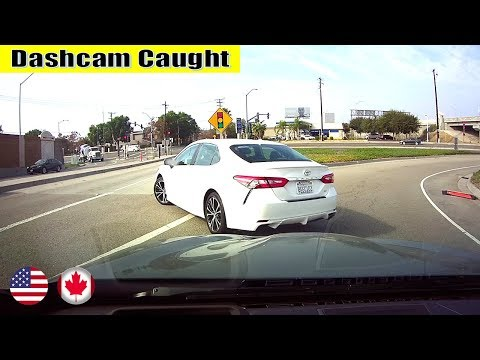 Ultimate North American Cars Driving Fails Compilation - 119 [Dash Cam Caught Video]