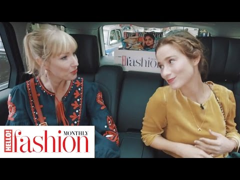Fashion Blogger The London Chatter Talks FROW Fashion Bloggers At LFW For #HFMfashionspin
