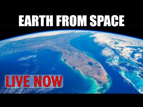 NASA Live: Earth From Space - Nasa Live Stream| ISS LIVE FEED : ISS Tracker + Live Chat
