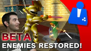 Beta ZELDA 64 Enemies Restored!