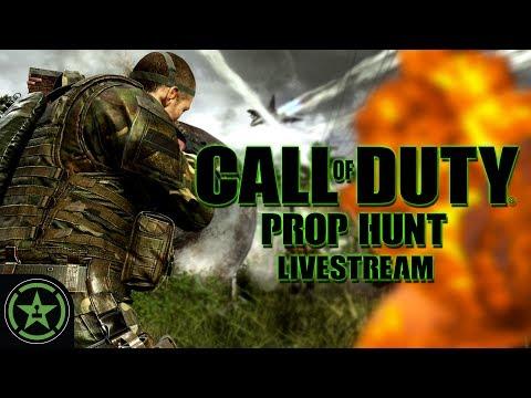 Achievement Hunter Stream - COD Prop Hunt