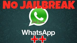 whatsapp++ for Iphone without Jailbreak