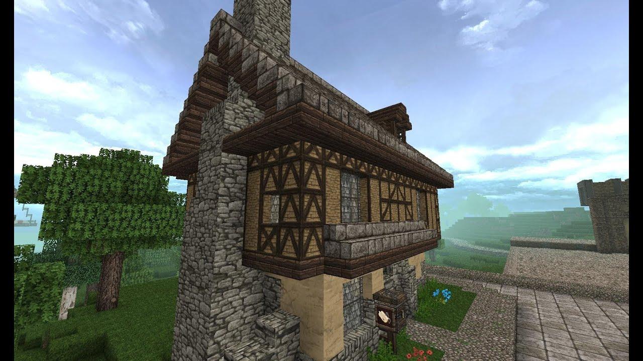 Let 180 S Show Minecraft Mittelalter Fachwerkhaus 025