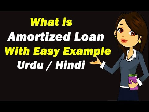 What Is Amortized Loan (Basic Concept) ? Urdu / Hindi