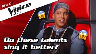 Top 10 | Best Auditions With A Coach Song  In The