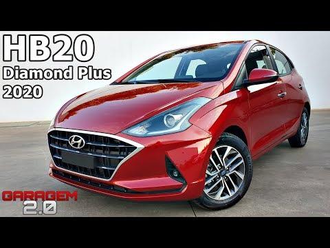 Novo Hyundai HB20 Diamond Plus 2020 - (Garagem 2.0)