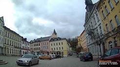 D: Stadt Bad Lobenstein. Saale-Orla-Kreis. Kleine Fahrt durch den Ort. Oktober 2017