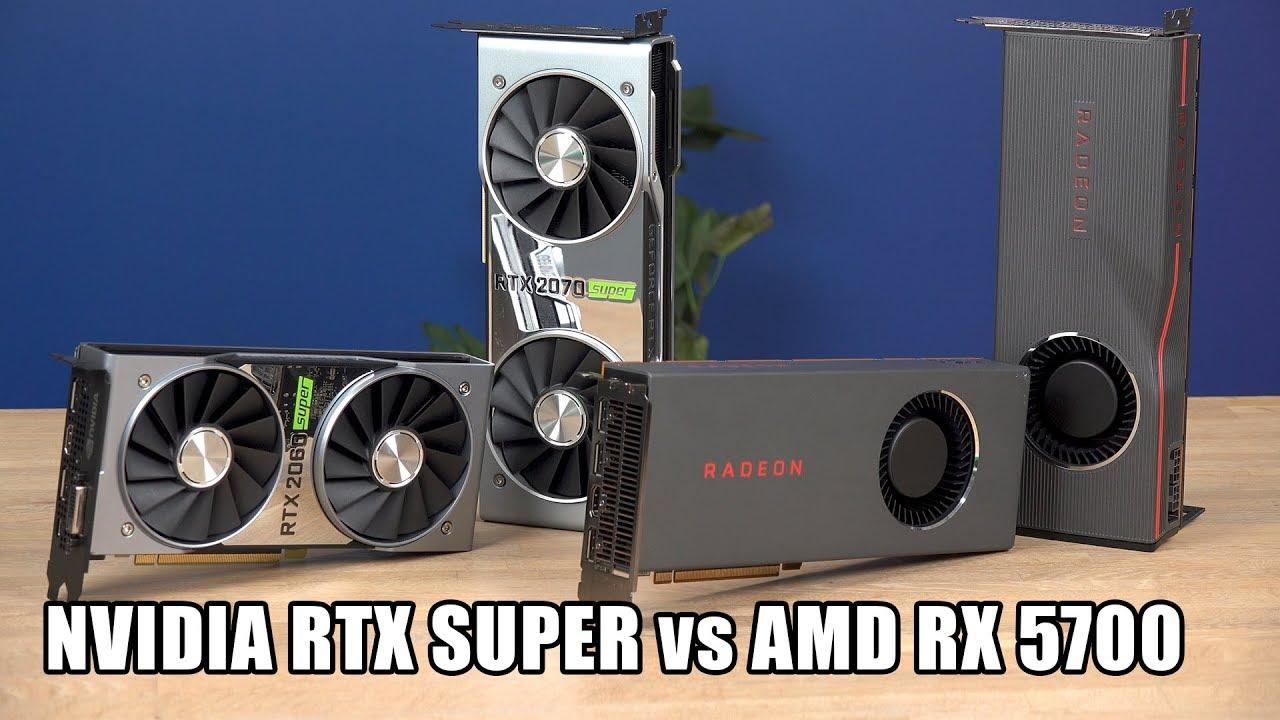 AMD RX 5700 (XT) 'Navi' versus Nvidia RTX 2060 en 2070 Super