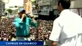 Al ritmo del contrapunteo recibieron a Capriles en Guárico