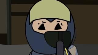 Cartoon CSGO Si juegas al CSGO y has sido plata entenderás este vídeo.