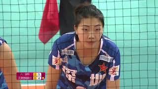 2017-2018 China Volleyball League 17th Round YUAN Xinyue Highlights