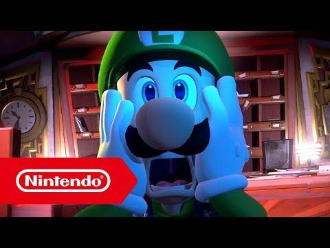 Luigi's Mansion 3 (título provisional) – Tráiler del anuncio (Nintendo Switch)