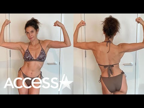 Teri Hatcher Flaunts Incredible Bikini Body At 55 After Fitness Challenge: 'No Filters, No Makeup'