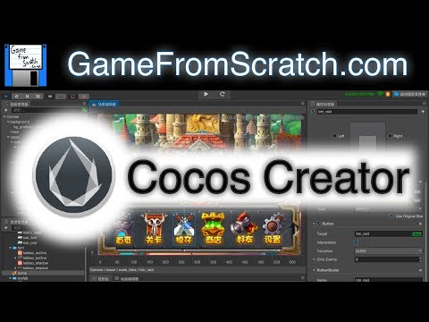 Cocos Creator Game Engine/Editor
