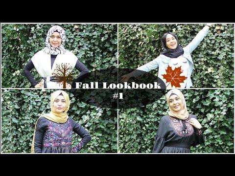 4 إطلالات لفصل الخريف | Muslim Queens AR by Mona