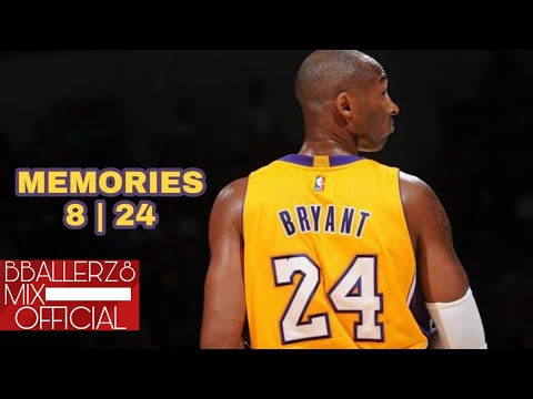"Kobe Bryant Mix - ""Memories"" ft. Maroon 5 - (Career Mixtape)"