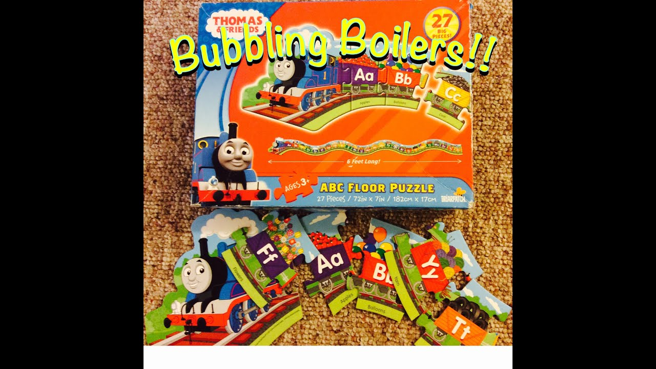 Thomas And Friends Alphabet Puzzle Youtube