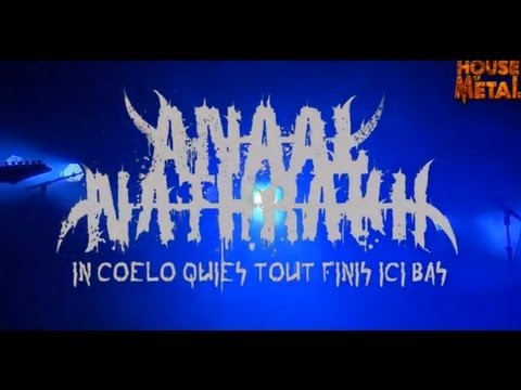 ANAAL NATHRAKH -  IN COELO QUIES,TOUT FINIS ICI BAS (HOUSE OF METAL 2013)