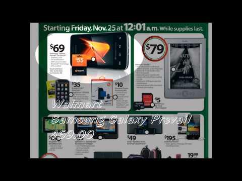 2011 Black Friday ~ no-contract phone sales