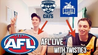 AFL LIVE VS TWISTIE3
