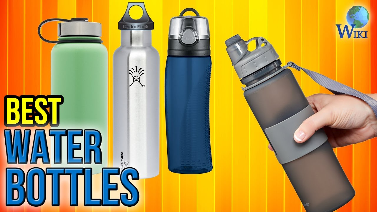 55532a29de 10 Best Water Bottles 2017 - YouTube