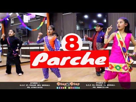 8 Parche | Baani Sandhu | Kids Bhangra Dance Performance | Step2Step Dance Studio | Punjabi Dance