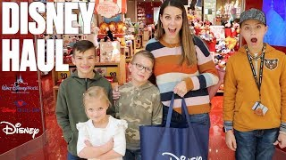 GETTING READY FOR OUR FIRST FAMILY TRIP TO DISNEY WORLD AND FIRST DISNEY CRUISE AT THE DISNEY STORE