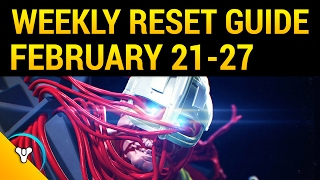 Destiny Rise of Iron: Weekly Reset Guide (Feb 21-27)