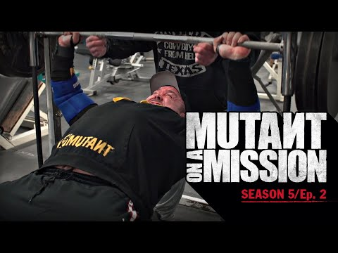 MUTANT ON A MISSION - Iron Works Gym, Saskatoon SK