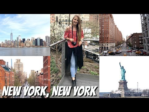NEW YORK VLOG | 9/11 Museum, Statue of Liberty, Highline & The Empire State Building
