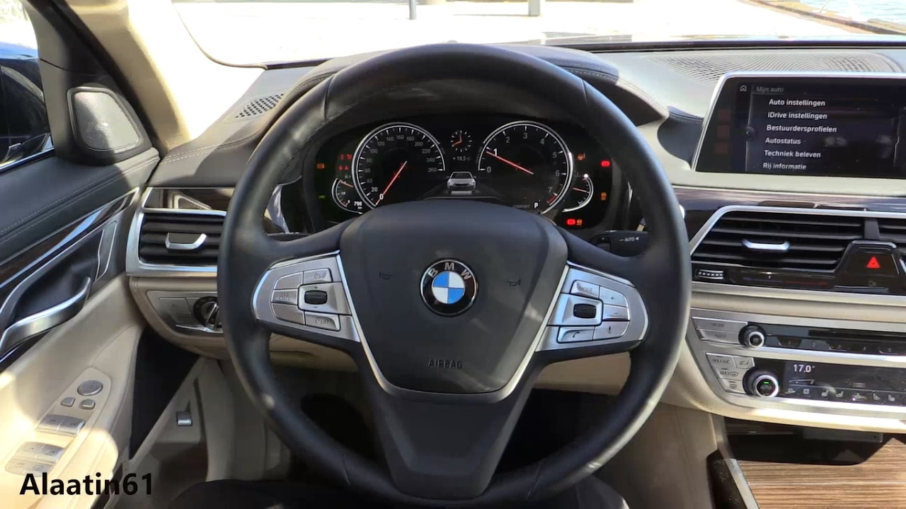 BMW 7 Series 2017 Interior Review