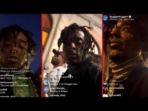 """Lil Uzi Vert Explains why he didn't show up in Canada. """"They Didn't let me in Canada"""""""