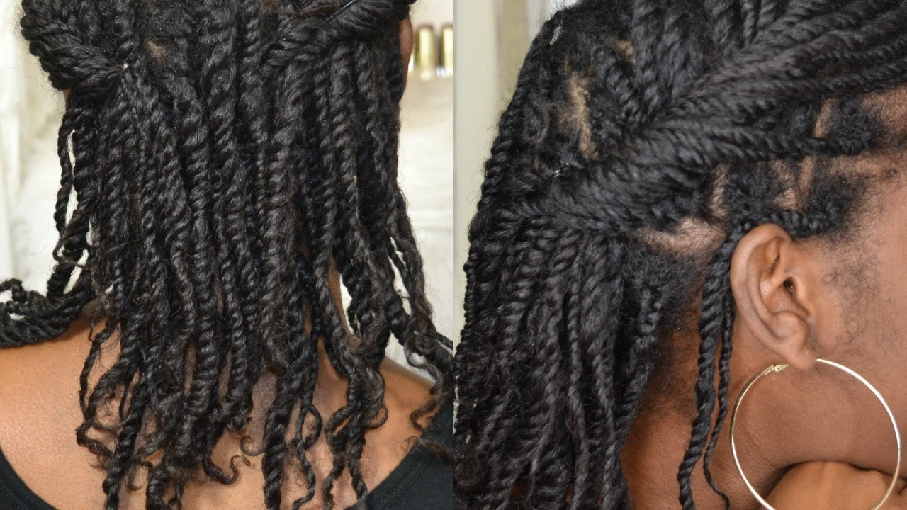 How To 3 Strand Twists On Natural Hair Wearable Mini