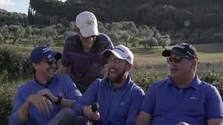 Ο Τζο Αρλάουκας στο τουρνουά γκολφ