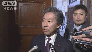 「桜を見る会」に反社会勢力 野党追及「進退問題」(19/11/27)