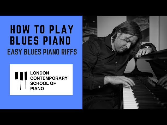 How To Play Blues Piano (EASY BLUES PIANO RIFFS)
