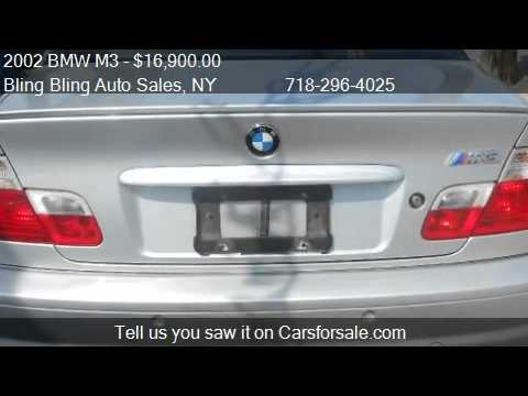 2002 BMW M3 Coupe - for sale in Ozone Park, NY 11416