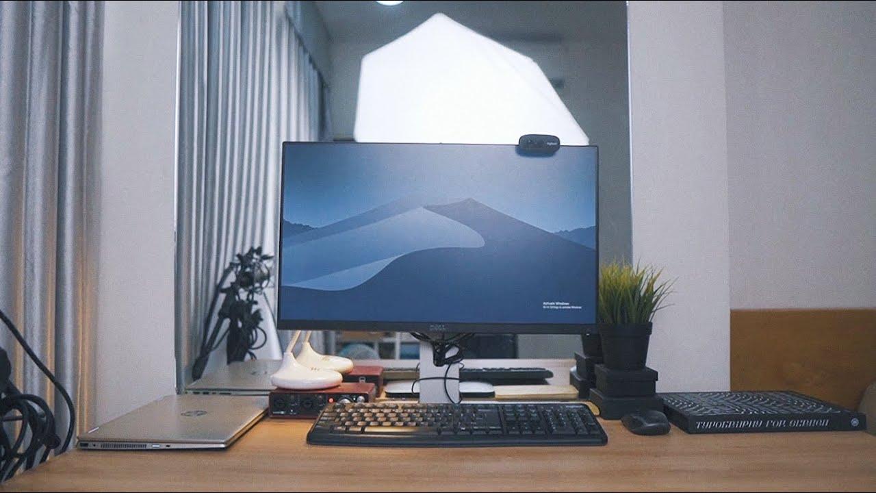 Góc làm việc tối giản của designer // Dàn máy tính hơn 50 triệu cực khủng!