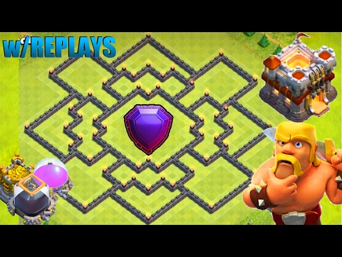 NEW BEST (Th11) TOWN HALL 11 HYBRID BASE (TROPHY/WAR DEFENCE) - 2017/Anti-Air/Lavaloon