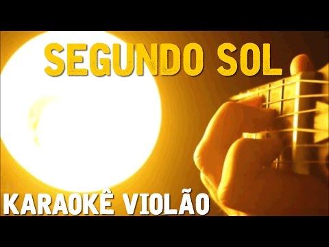Segundo Sol  - Cássia Eller - Karaokê com violão