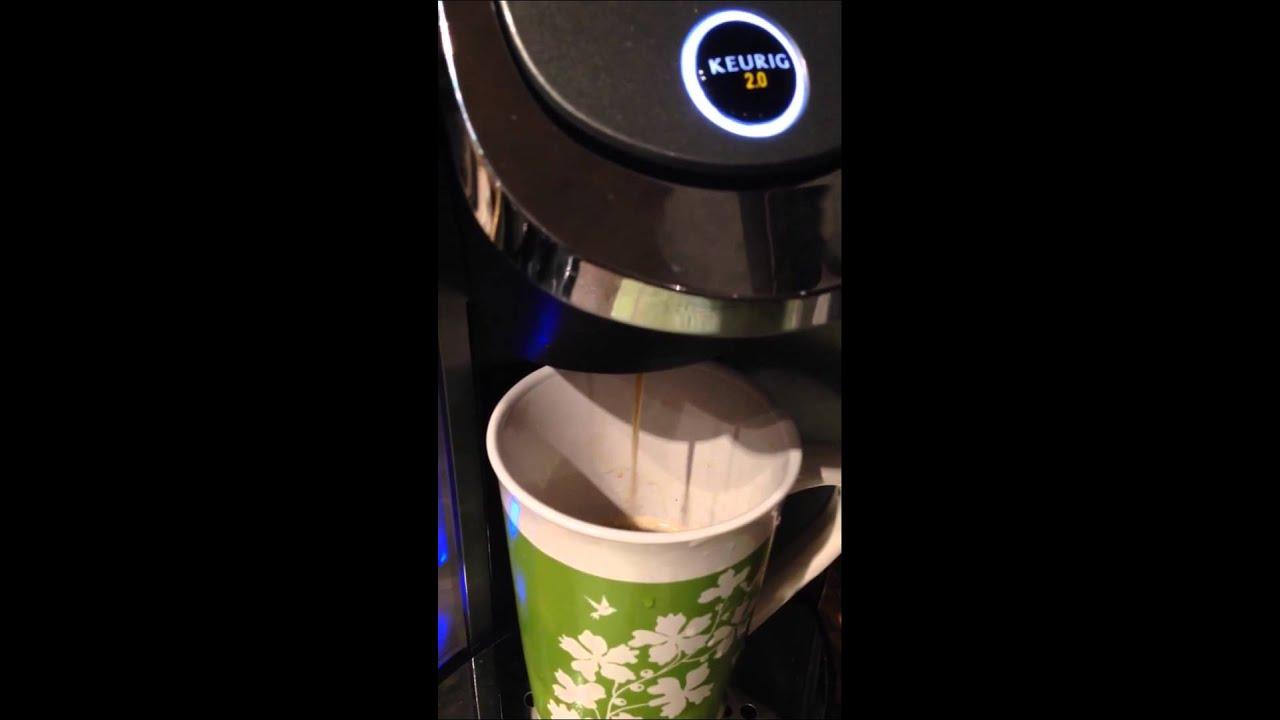 Keurig Coffee Maker Exploded View : Keurig explodes - YouTube
