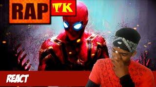 [REACT] Rap do Homem-Aranha // Não Quero Morrer // TK RAPS ( TK RAPS )