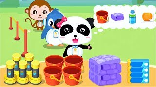 Baby Panda Play & Learn EARTHQUAKE SAFETY TIPS | Educational Kids Games