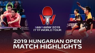 Fan Zhendong/Lin Gaoyuan vs Wong Chun Ting/Lam Siu Hang | 2019 Hungarian Open Highlights (1/4)