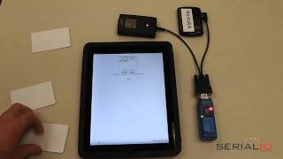 iPad & iPhone NFC reader scans RFID tag data into any website