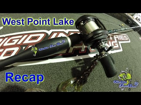 West Point Lake High School Tournament Update ( Fish Head Spin,  Jig, And Wobble Head )