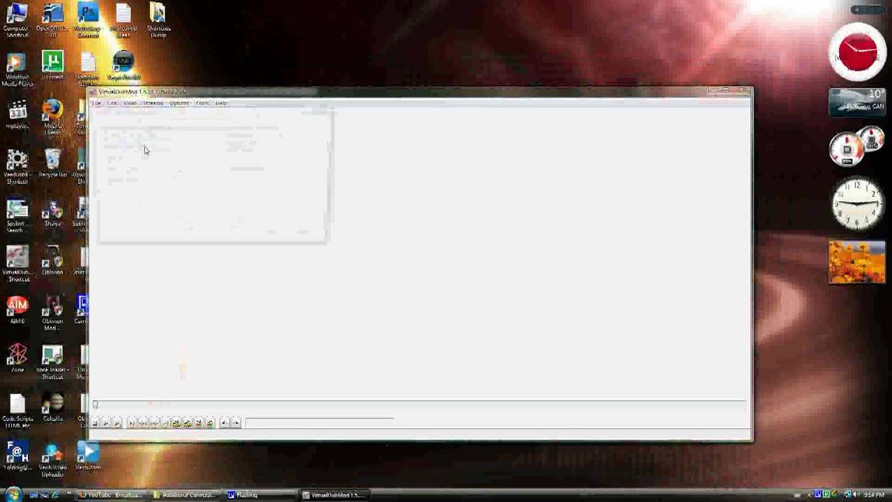 codec h264 pour virtualdub